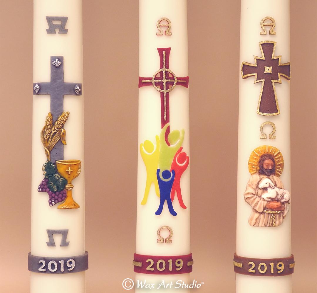 Paschal candles 2019