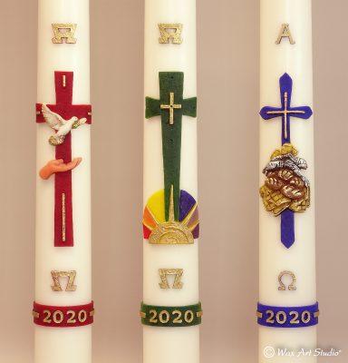 Paschal candles 2020