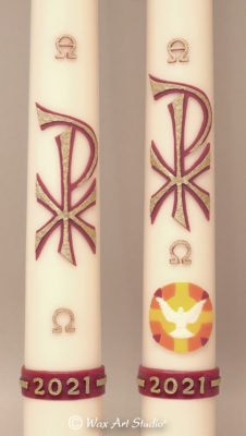 Paschal candles 2021 C and D